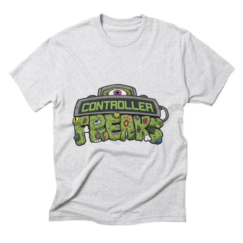 Controller Freaks - Logo Men's Triblend T-Shirt by Mystic Soda Shoppe