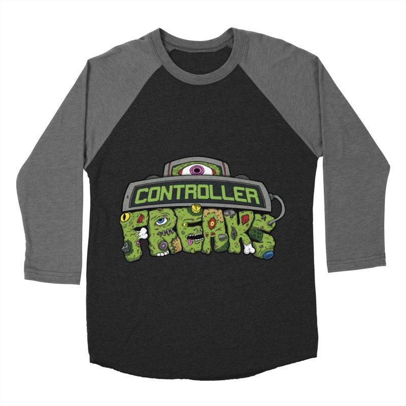 Controller Freaks - Logo Women's Baseball Triblend Longsleeve T-Shirt by Mystic Soda