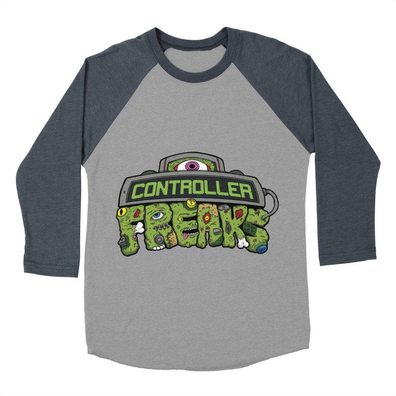 Controller Freaks - Logo Women's Baseball Triblend Longsleeve T-Shirt by Mystic Soda Shoppe