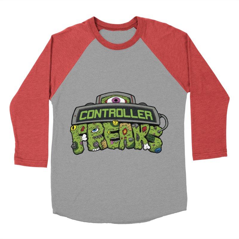 Controller Freaks - Logo Men's Baseball Triblend Longsleeve T-Shirt by Mystic Soda