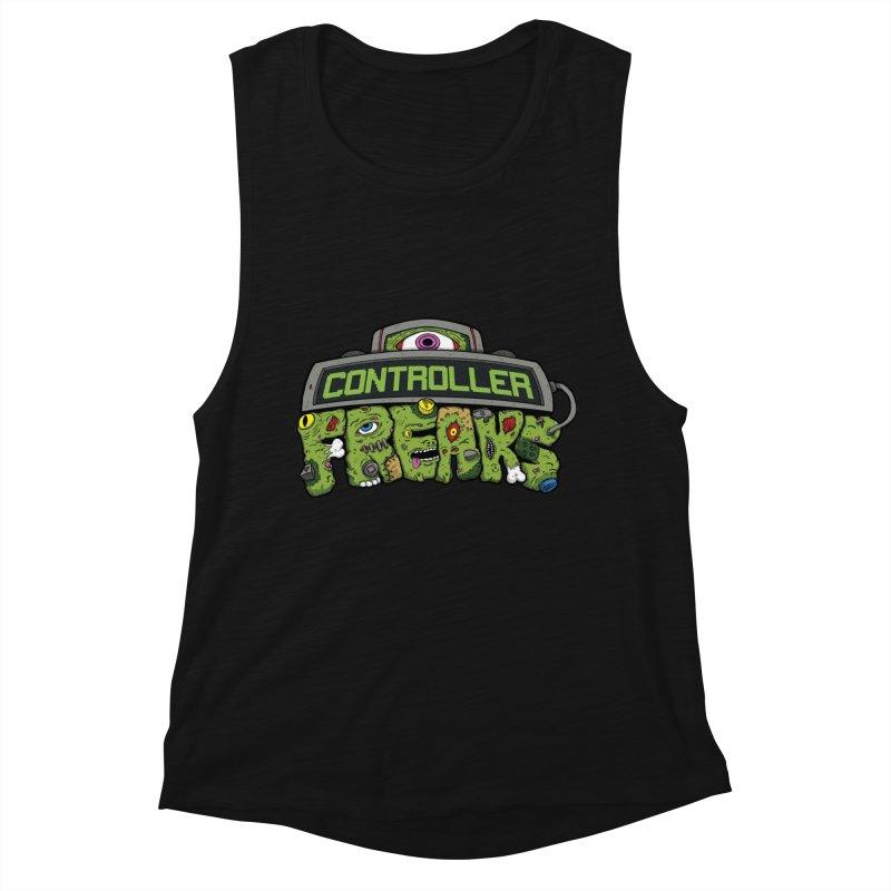 Controller Freaks - Logo Women's Muscle Tank by Mystic Soda