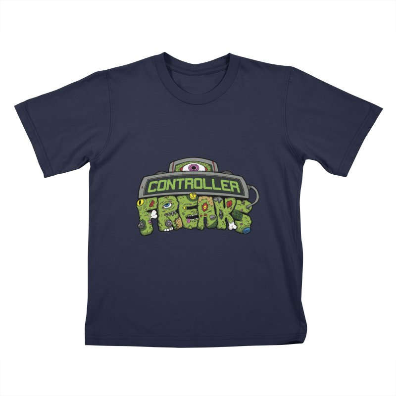 Controller Freaks - Logo Kids T-Shirt by Mystic Soda