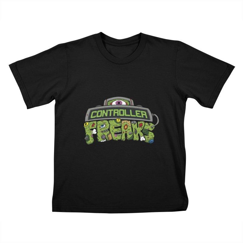 Controller Freaks - Logo Kids T-Shirt by Mystic Soda