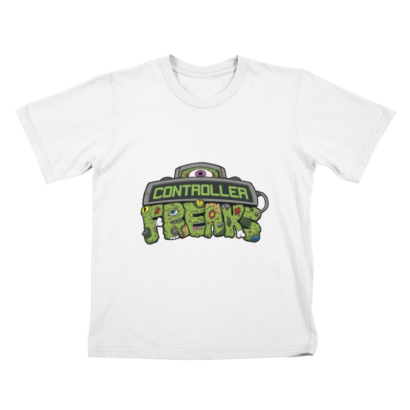 Controller Freaks - Logo Kids T-Shirt by Mystic Soda Shoppe