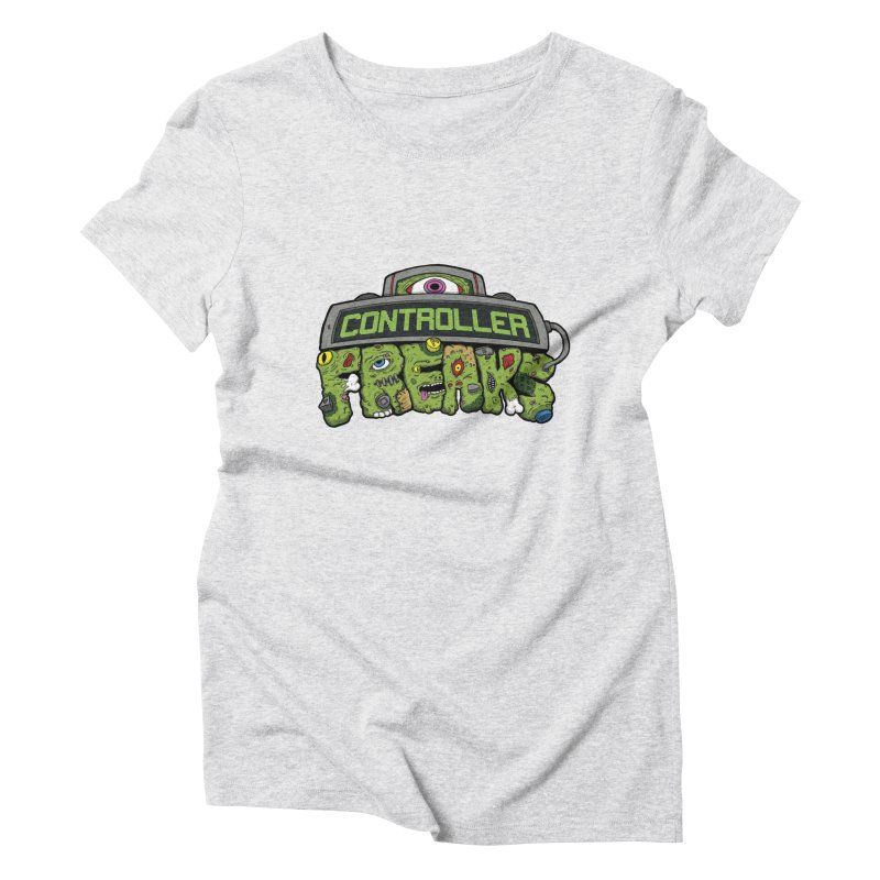 Controller Freaks - Logo Women's Triblend T-Shirt by Mystic Soda