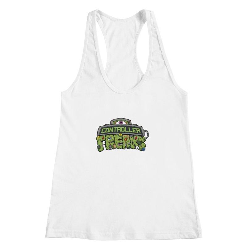 Controller Freaks - Logo Women's Racerback Tank by Mystic Soda Shoppe