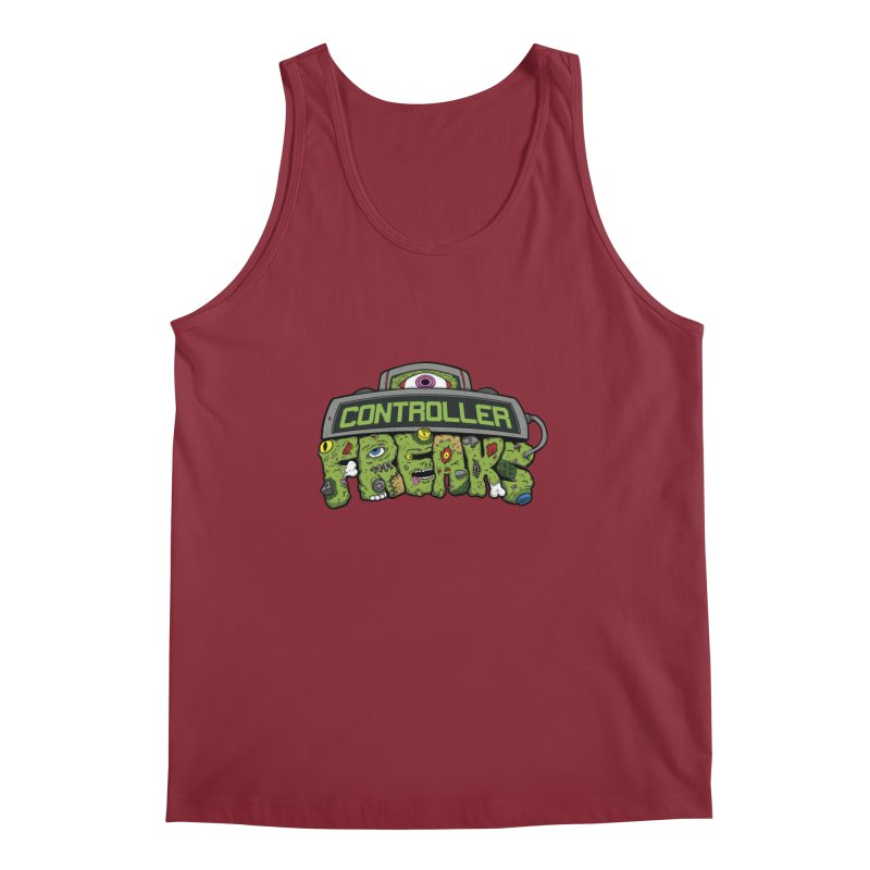 Controller Freaks - Logo Men's Regular Tank by Mystic Soda