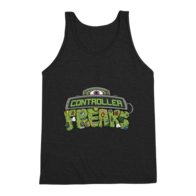 Controller Freaks - Logo Men's Triblend Tank by Mystic Soda