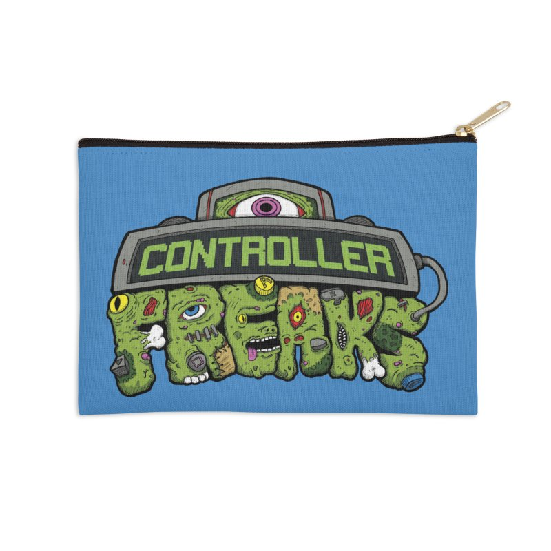 Controller Freaks - Logo Accessories Zip Pouch by Mystic Soda