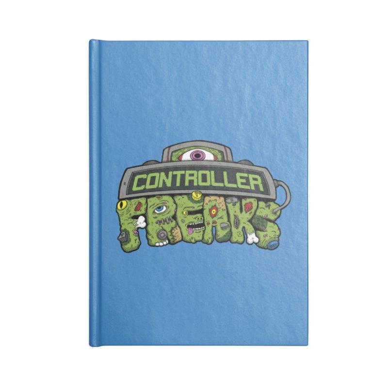 Controller Freaks - Logo Accessories Notebook by Mystic Soda Shoppe