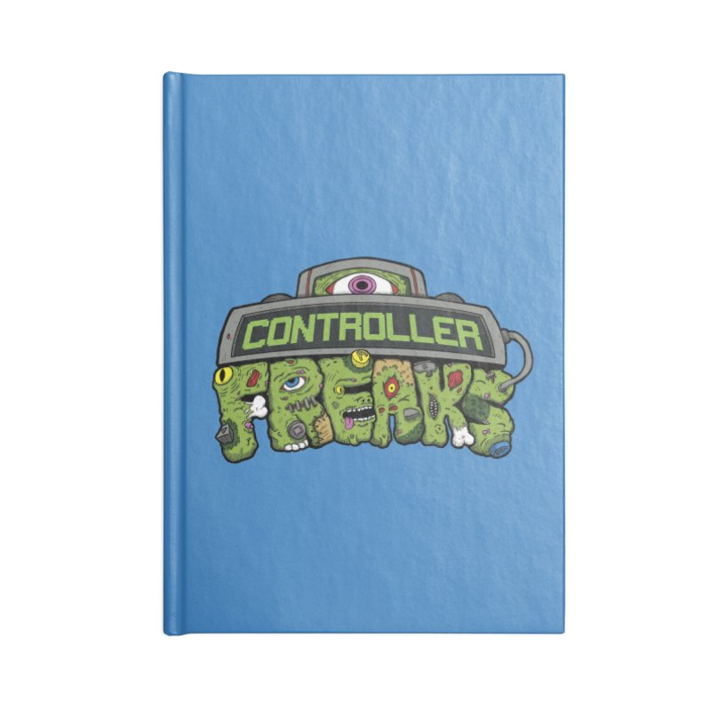 Controller Freaks - Logo Accessories Blank Journal Notebook by Mystic Soda