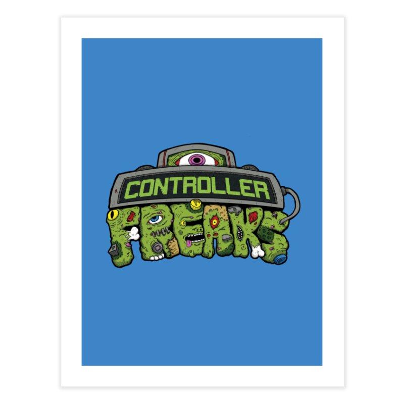 Controller Freaks - Logo Home Fine Art Print by Mystic Soda