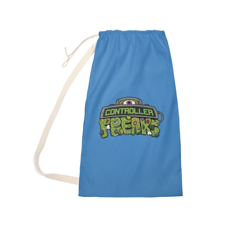 Controller Freaks - Logo Accessories Laundry Bag Bag by Mystic Soda
