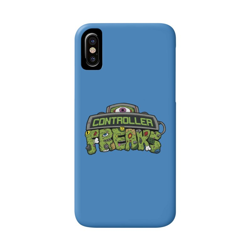 Controller Freaks - Logo Accessories Phone Case by Mystic Soda Shoppe