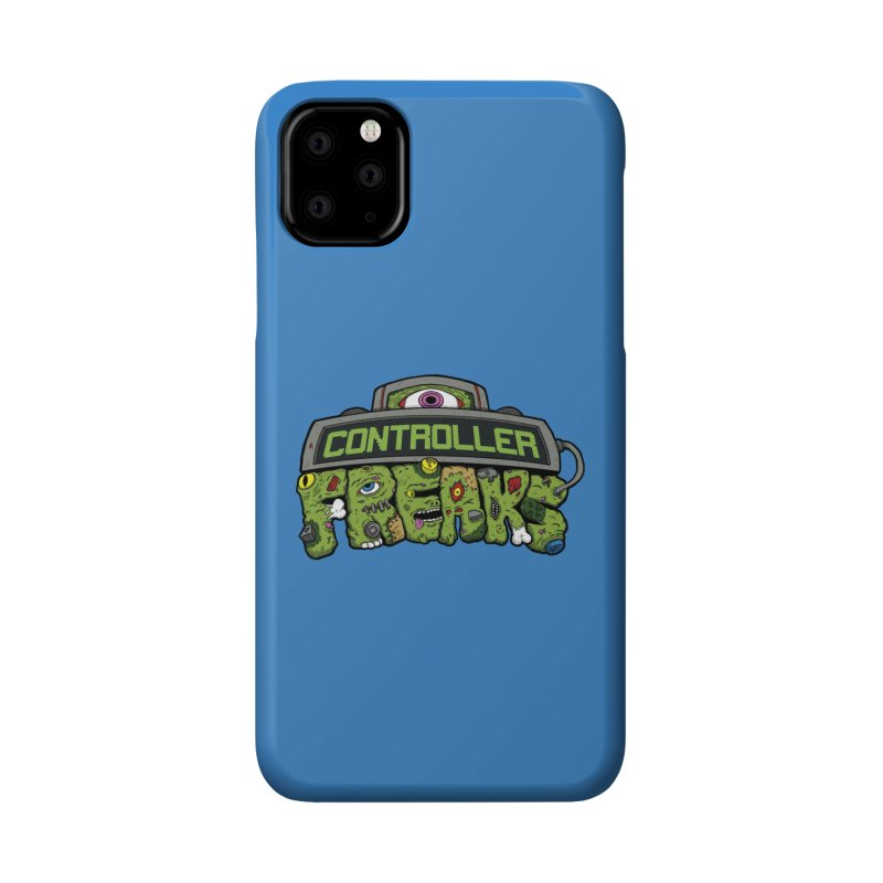 Controller Freaks - Logo Accessories Phone Case by Mystic Soda