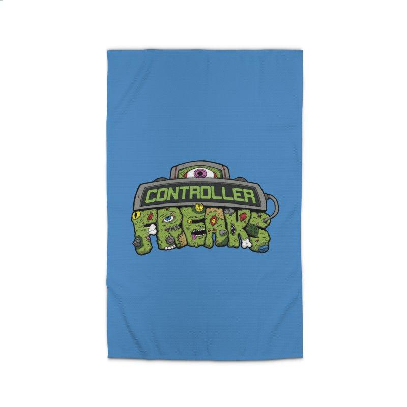 Controller Freaks - Logo Home Rug by Mystic Soda Shoppe