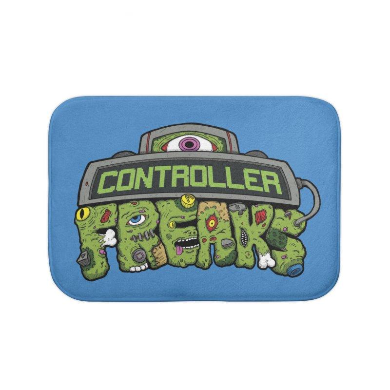 Controller Freaks - Logo Home Bath Mat by Mystic Soda Shoppe