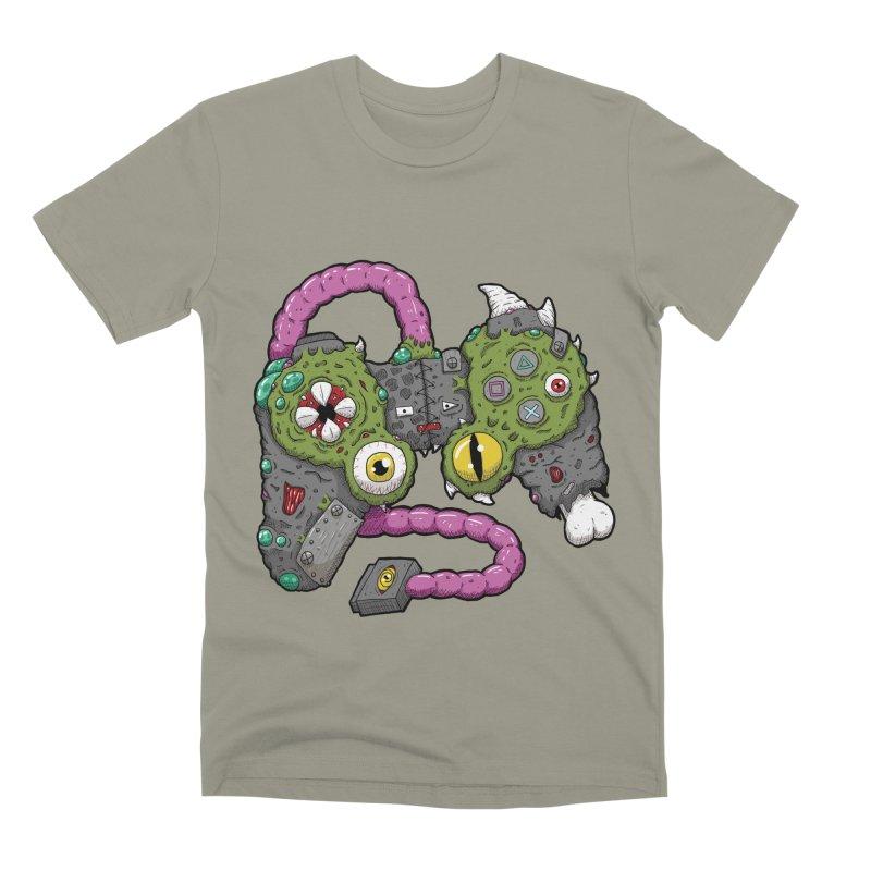 Controller Freaks - The DualShock Men's Premium T-Shirt by Mystic Soda