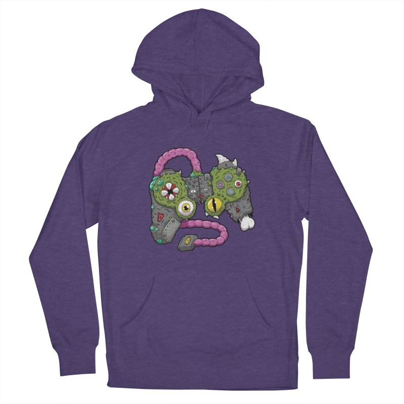 Controller Freaks - The DualShock Men's French Terry Pullover Hoody by Mystic Soda