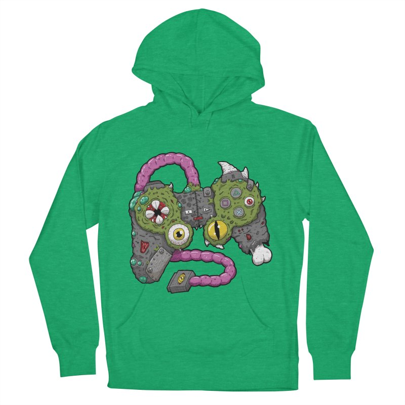Controller Freaks - The DualShock Women's French Terry Pullover Hoody by Mystic Soda