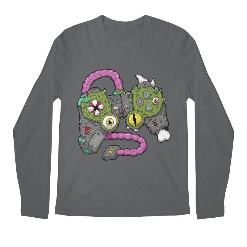 Controller Freaks - The DualShock Men's Regular Longsleeve T-Shirt by Mystic Soda