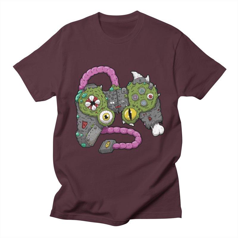 Controller Freaks - The DualShock Men's Regular T-Shirt by Mystic Soda