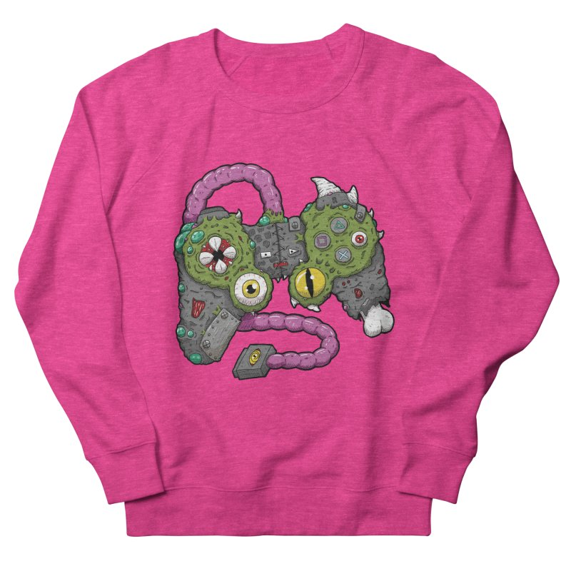 Controller Freaks - The DualShock Men's French Terry Sweatshirt by Mystic Soda