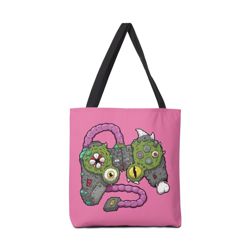 Controller Freaks - The DualShock Accessories Tote Bag Bag by Mystic Soda