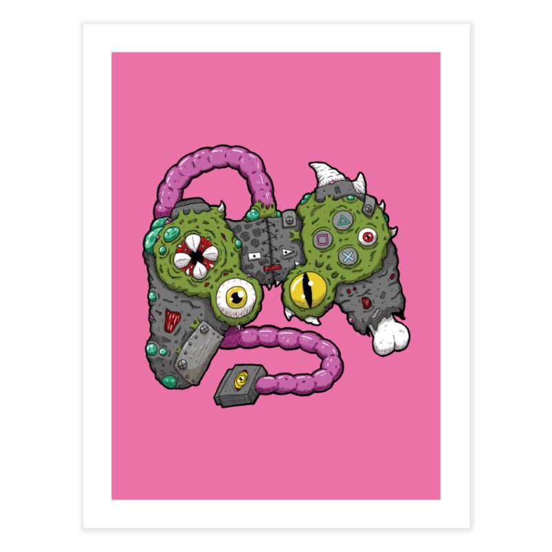Controller Freaks - The DualShock Home Fine Art Print by Mystic Soda