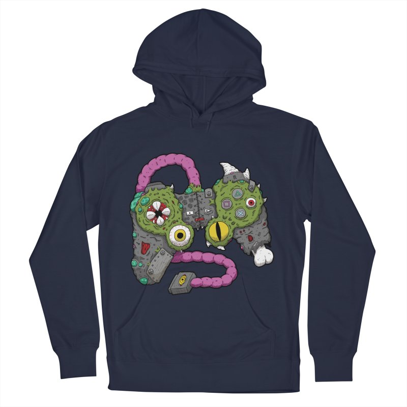 Controller Freaks - The DualShock Women's French Terry Pullover Hoody by Mystic Soda Shoppe