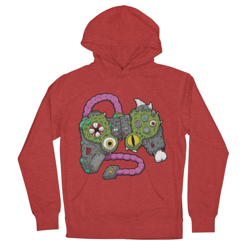 Controller Freaks - The DualShock Men's French Terry Pullover Hoody by Mystic Soda Shoppe