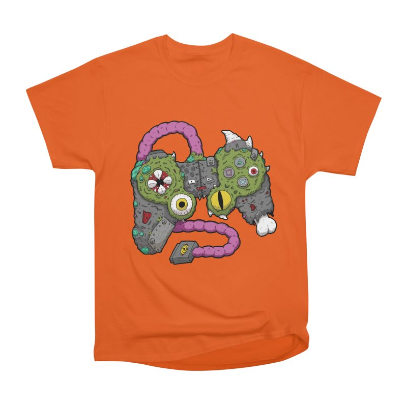 Controller Freaks - The DualShock Men's Heavyweight T-Shirt by Mystic Soda Shoppe