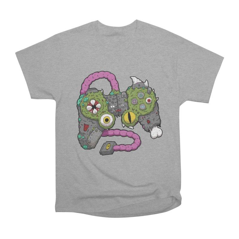 Controller Freaks - The DualShock Men's Heavyweight T-Shirt by Mystic Soda