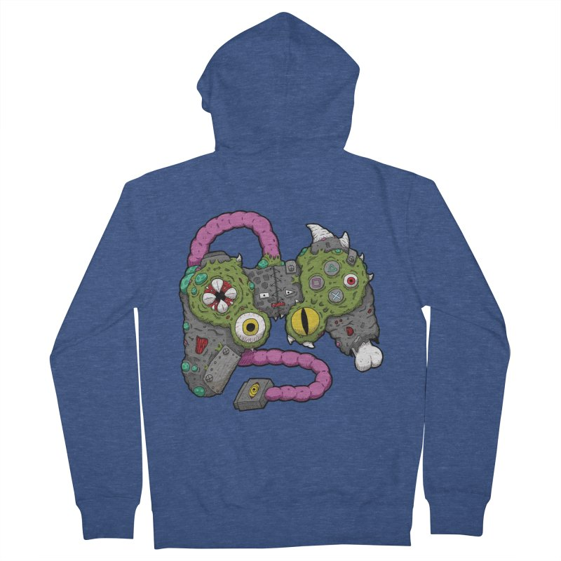 Controller Freaks - The DualShock Men's French Terry Zip-Up Hoody by Mystic Soda Shoppe