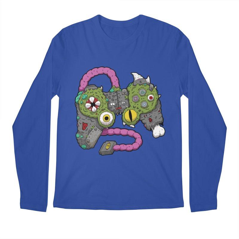 Controller Freaks - The DualShock Men's Regular Longsleeve T-Shirt by Mystic Soda Shoppe