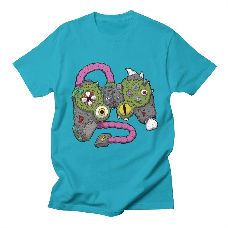 Controller Freaks - The DualShock Women's Regular Unisex T-Shirt by Mystic Soda
