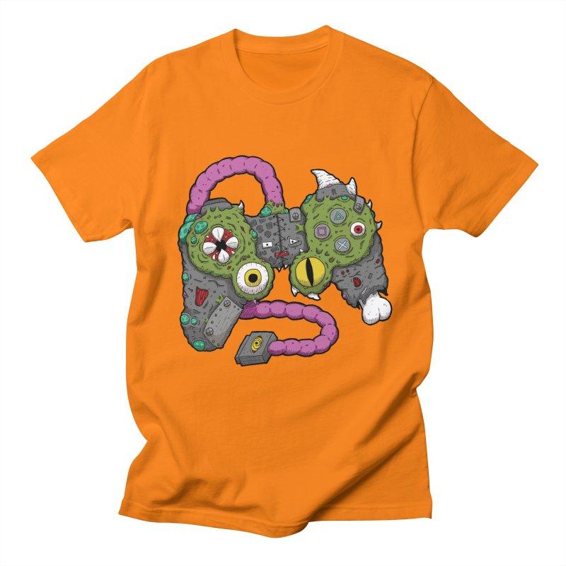 Controller Freaks - The DualShock Men's T-Shirt by Mystic Soda Shoppe