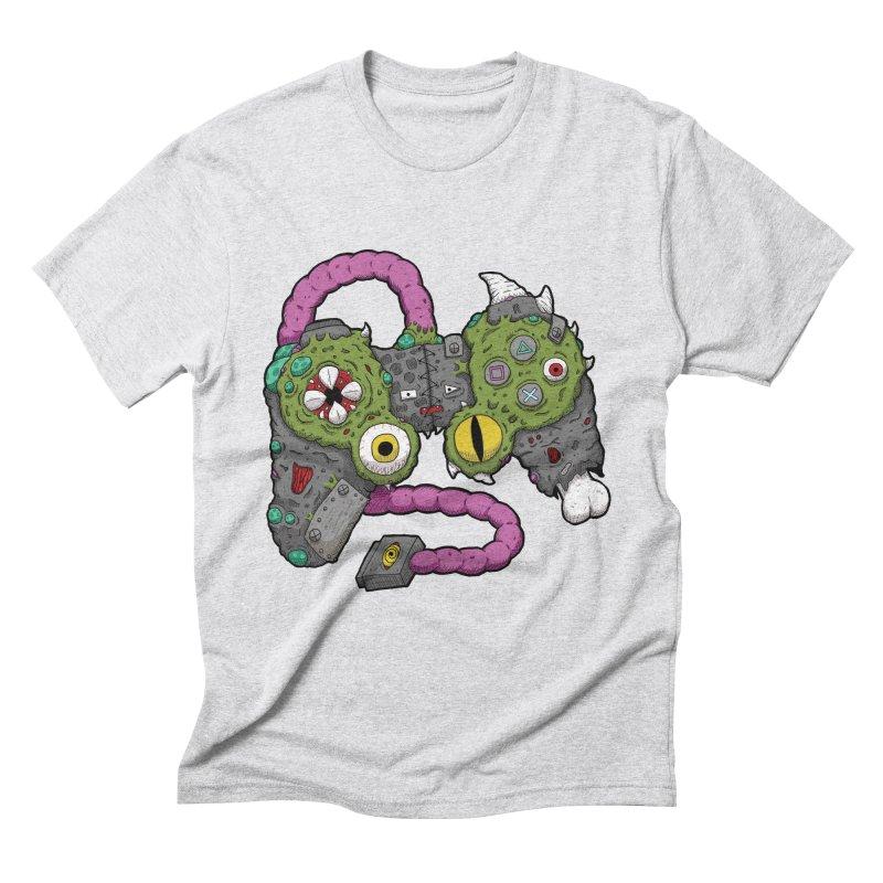 Controller Freaks - The DualShock Men's Triblend T-Shirt by Mystic Soda