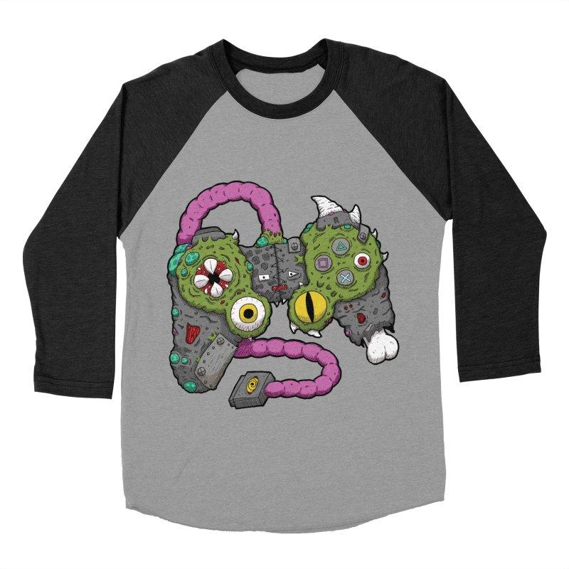 Controller Freaks - The DualShock Women's Baseball Triblend Longsleeve T-Shirt by Mystic Soda