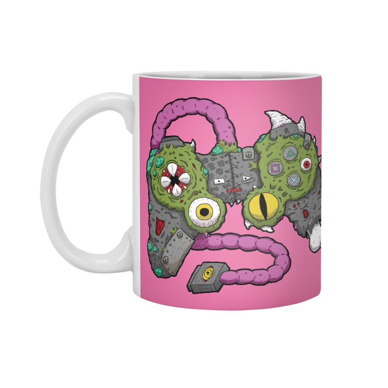 Controller Freaks - The DualShock Accessories Mug by Mystic Soda Shoppe