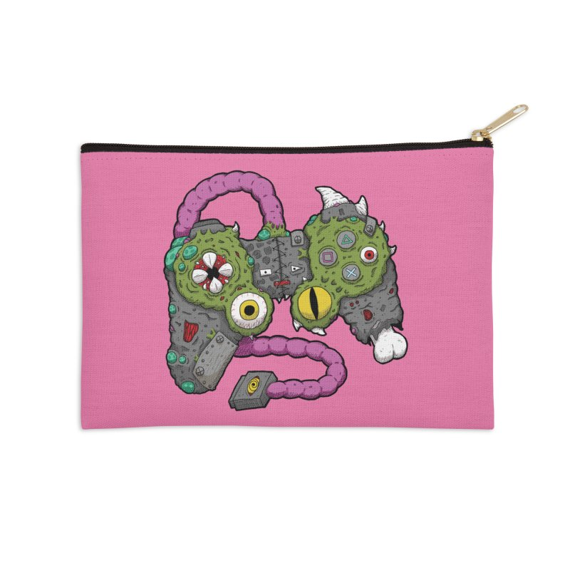 Controller Freaks - The DualShock Accessories Zip Pouch by Mystic Soda Shoppe
