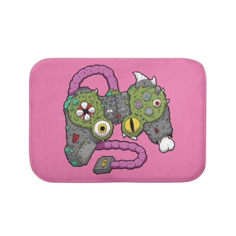 Controller Freaks - The DualShock Home Bath Mat by Mystic Soda Shoppe