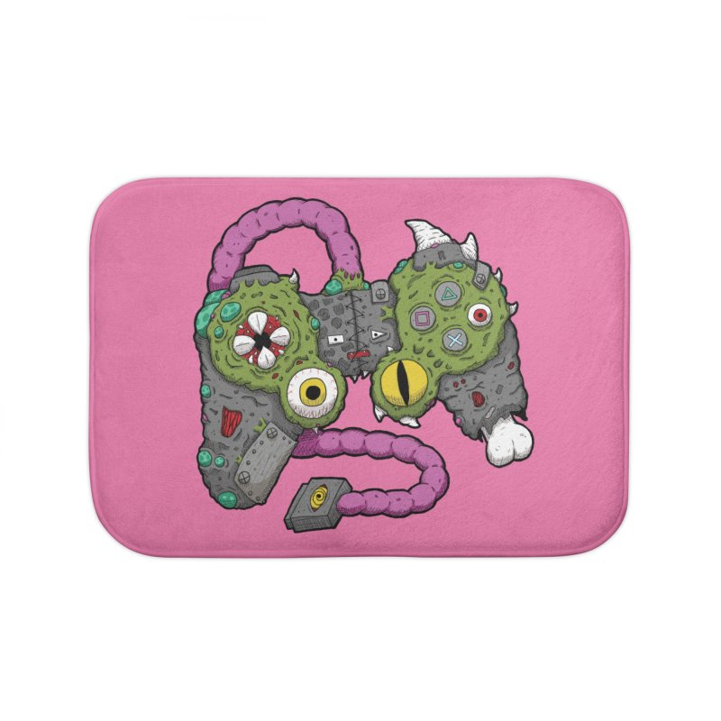 Controller Freaks - The DualShock Home Bath Mat by Mystic Soda Shoppe