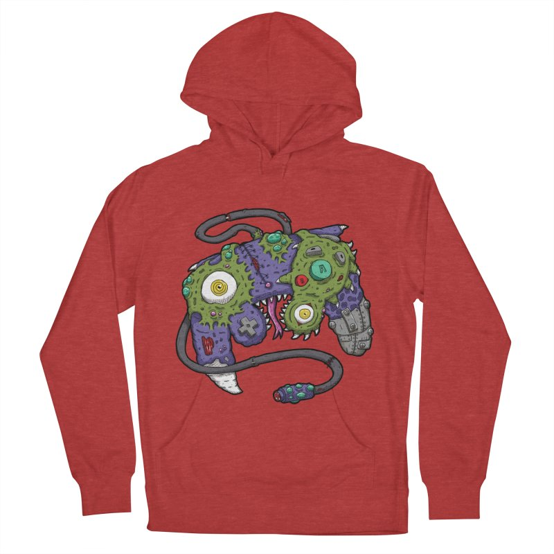 Controller Freaks - G4M3CUB3 Women's French Terry Pullover Hoody by Mystic Soda