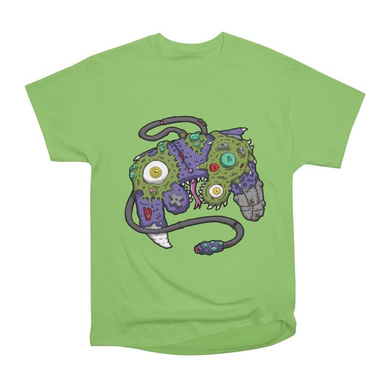 Controller Freaks - G4M3CUB3 Men's Heavyweight T-Shirt by Mystic Soda