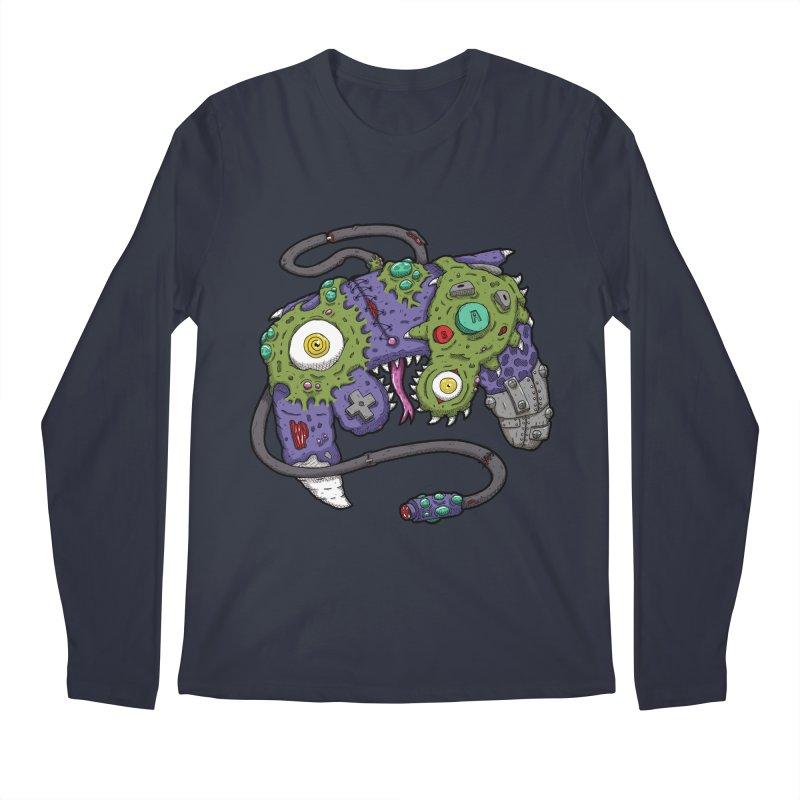 Controller Freaks - G4M3CUB3 Men's Regular Longsleeve T-Shirt by Mystic Soda