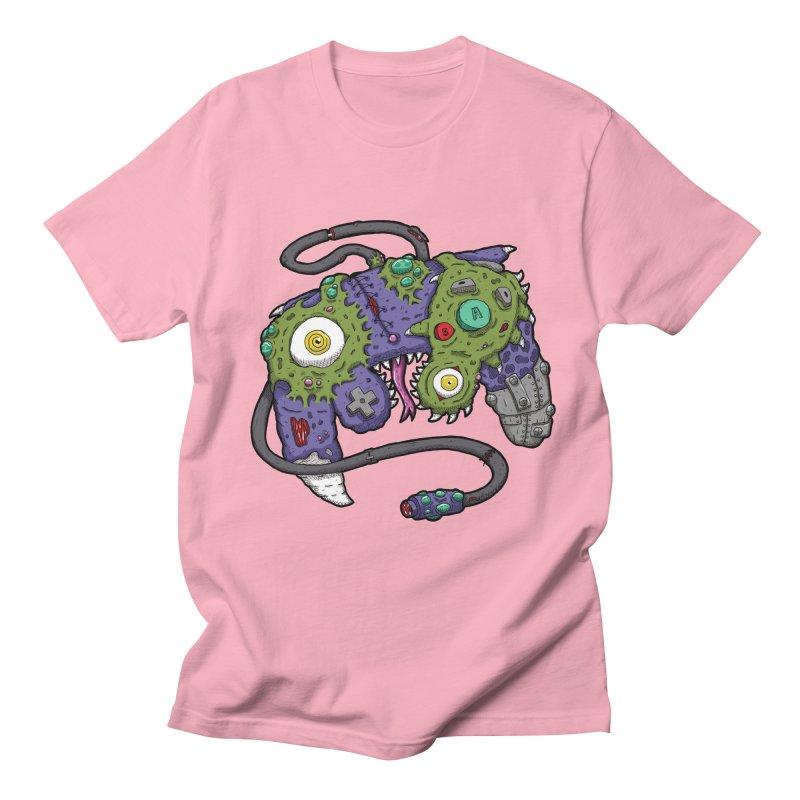 Controller Freaks - G4M3CUB3 Women's Regular Unisex T-Shirt by Mystic Soda