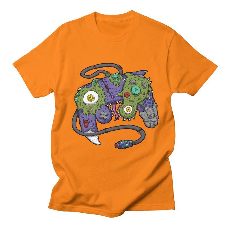Controller Freaks - G4M3CUB3 Men's Regular T-Shirt by Mystic Soda