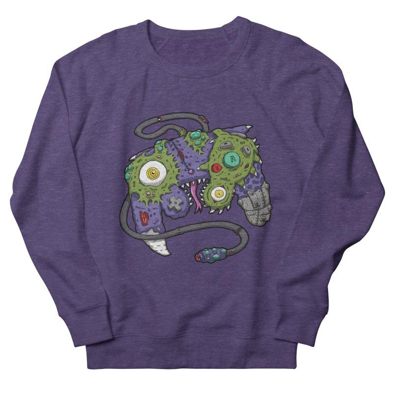 Controller Freaks - G4M3CUB3 Men's French Terry Sweatshirt by Mystic Soda