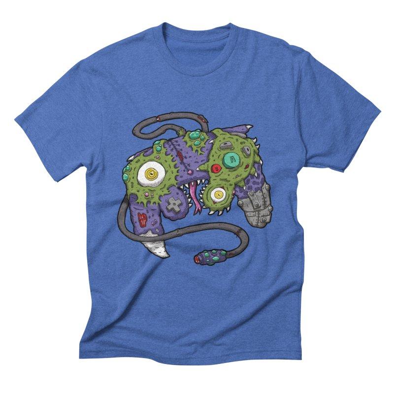 Controller Freaks - G4M3CUB3 Men's Triblend T-Shirt by Mystic Soda
